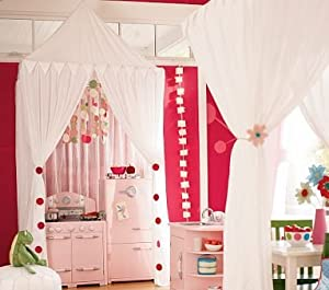 Amazon Com Pottery Barn Kids Hanging Tent Canopy Toys