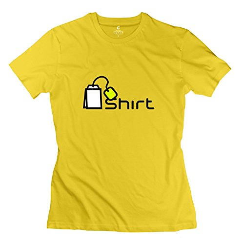 Ywt Tea Shirt Woman Clothing Brand New Funny Yellow