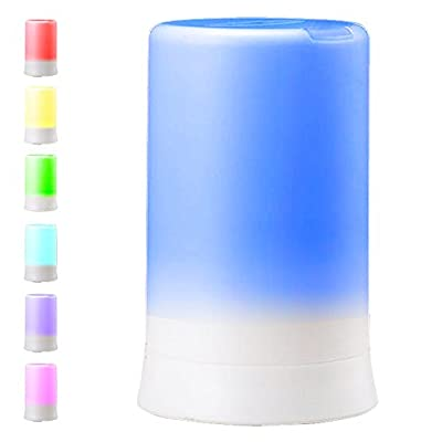 DLAND 100ML 7 Colors Electric Aromatherapy Essential oil Diffuser With 4 Timers Cool Mist Humidifier with Colorful LED light and Auto off, Whisper-Quiet Cool Mist Humidifier, Enjoy Aromatherapy Experience with Your Favorite Scented,Diffuser Ultrasonic Hum