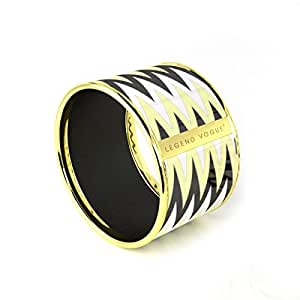 weihnachtsgeschenk idee legend vogue armreif rhodiumplattiert gelbgold armband tribal totem. Black Bedroom Furniture Sets. Home Design Ideas