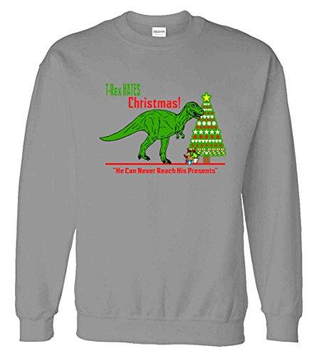 Sweater: T-Rex Hates Christmas