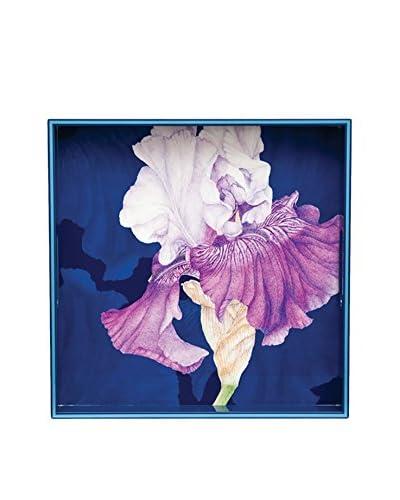 rockflowerpaper Iris Square Tray