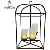 Popcandy PartyLite 3-Candle Lantern
