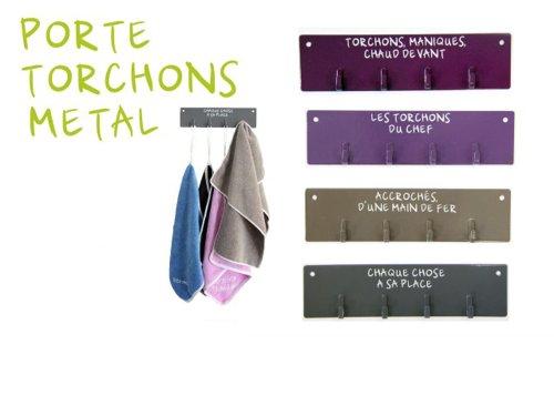 Prabu ira pat re cuisine porte torchon accroche gant for Porte torchon cuisine mural