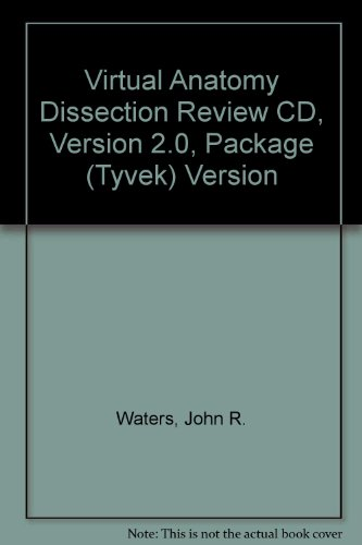 Virtual Anatomy Dissection Review Cd, Version 2.0, Tyvek Version