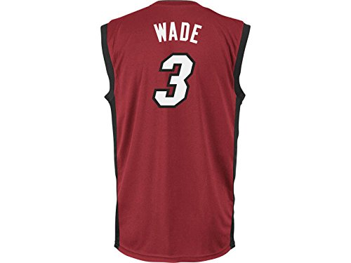 NBA Miami Heat Dwayne Wade #3 Youth Replica Alternate Jersey, Red