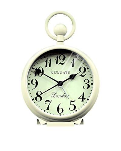 Newgate Pocketwatch Alarm Clock, White