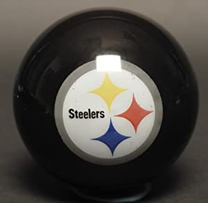 Pittsburgh Steelers Billiard '8' Ball from SteelerMania