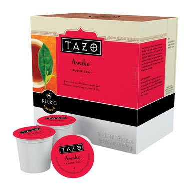 Tazo Awake Black Tea - English Breakfast - Keurig K-Cups, 16 Count