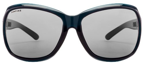 Fastrack Oval Sunglasses (Green Black) (P187BK1F)