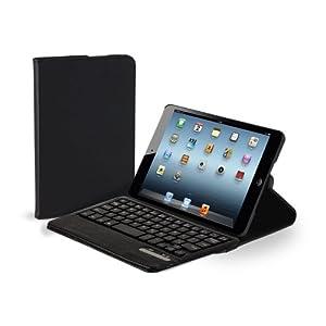 Hip Street Portfolio Case with Bluetooth Keyboard for iPad mini (HS-IPDMKB1-BK)
