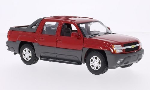 chevrolet-avalanche-red-2002-model-car-ready-made-welly-124-by-chevrolet