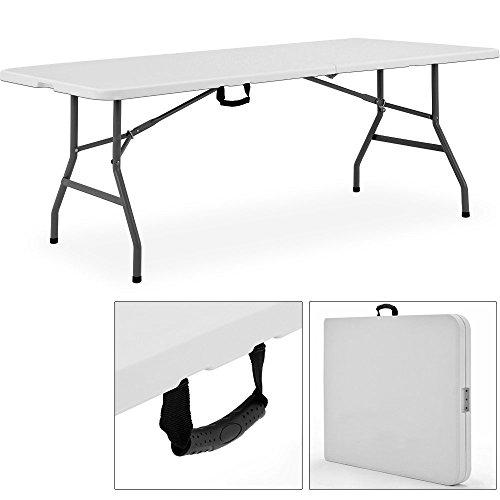 Buffettisch-240cm-klappbar-Kofferfunktion-Partytisch-Klapptisch-Gartentisch