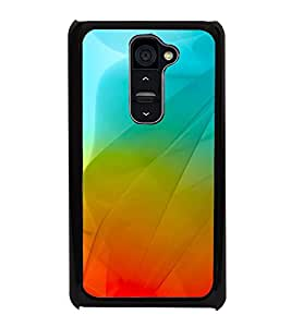 Colourful Fluidic Design 2D Hard Polycarbonate Designer Back Case Cover for LG G2 :: LG G2 D800 D802 D801 D802TA D803 VS980 LS980