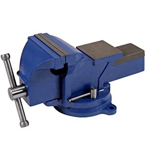 Timbertech® SRST01-150 Bench Vice Dimensions: approx. 400 x 200 x 200 mm (DXWXH) / Width between Jaws: approx. 0-165 mm