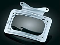 Kuryakyn 3157 Curved License Plate Mount For Harley-Davidson