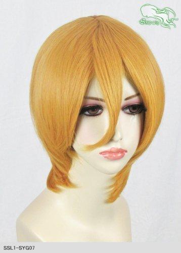 スキップウィッグ 魅せる シャープ 小顔に特化したコスプレアレンジウィッグ マシュマロショート マスタード