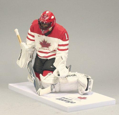Roberto Luongo White Jersey NHL Hockey 12 Inch Action Figure Team Canada