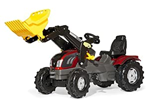 Rolly Valtra FarmTrac Pedal Tractor with Front Loader