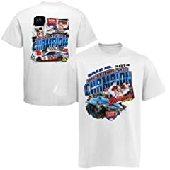 NASCAR Dale Earnhardt Jr. #88 Daytona 500 Champion White Adult Tee Shirt - LARGE by NASCAR