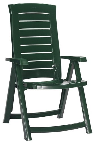 Jardin Aruba 140257 Folding Chair Plastic Green
