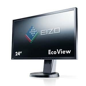 Eizo 24 16:10 DVI+DP+USB LED black, EV2436WFS-BK
