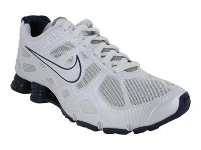 f7d129c06f9 Nike Men s NIKE SHOX TURBO 12 RUNNING SHOES 8 WHITE WHITE WOLF GREY BNRY BL