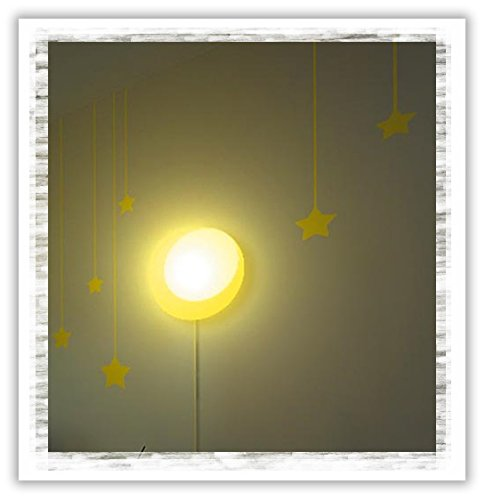 Dream Wall Wall Decal with Night Light, Happy Sun