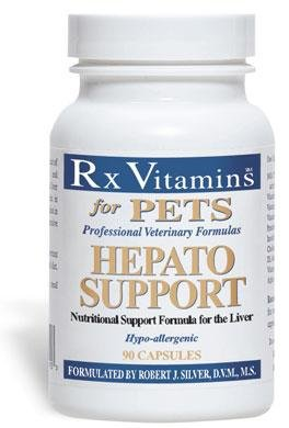 Rx Vitamins For Pets - Hepato Support 180 Caps (180 Capsules)