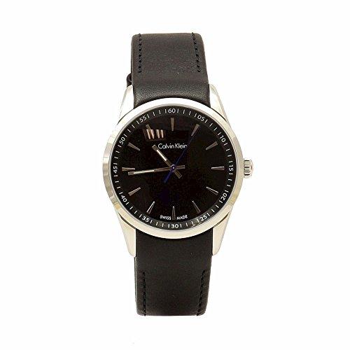 Calvin Klein K5A311C1 Watch Bold Mens - Black Dial Quartz Movement