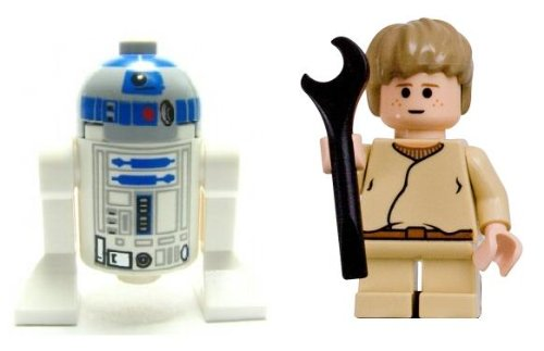 LEGO R2-D2 And Anakin Skywalker (Child) Loose Star Wars Figures | Toys
