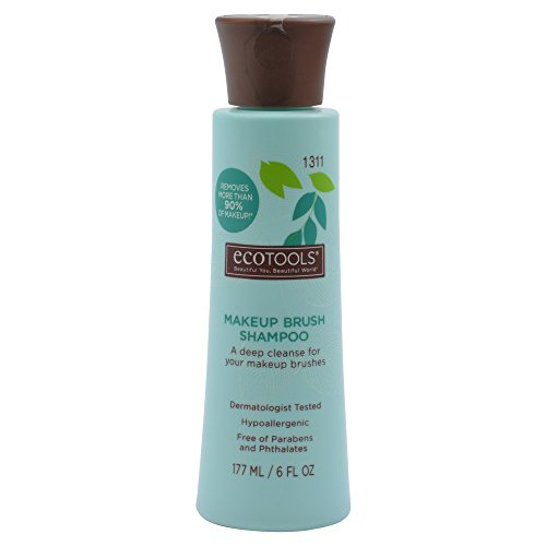 Ecotools Makeup Brush Cleansing Shampoo, 6 Ounce (Organic Makeup Brush Cleaner compare prices)