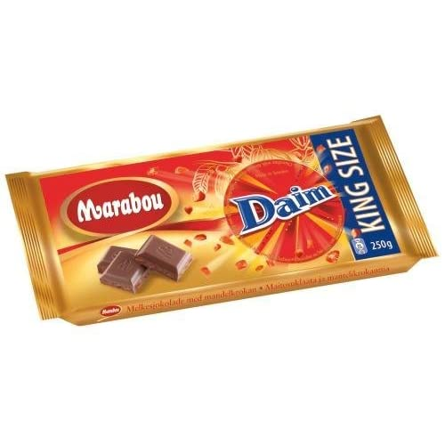 Amazon.com: Candy & Chocolate: Marabou Daim Milk Chocolate