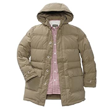 Suburban Down Duffle Coat 903401: Dark Pecan
