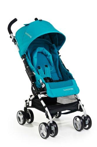 Bumbleride Flite Lightweight Compact Travel Stroller, Aqua