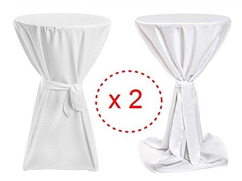 2er-Pack-Stehtischhussen-Premium-Wei-Stehtisch-bis-100cm-