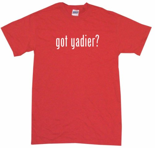 Got Yadier Women's Tee Shirt Large-Red-Regular at Amazon.com