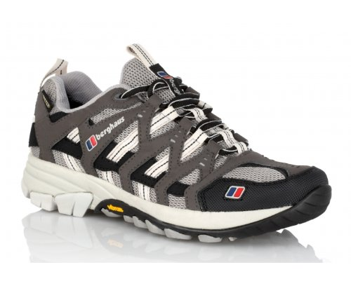 BERGHAUS Ladies Prognosis GTX Technical Trail Running Shoes, Grey/Black, US5.5