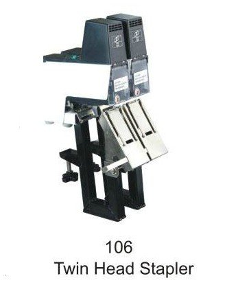 Rapid 106 Heavy Duty Double Head Electric Saddle Stapler