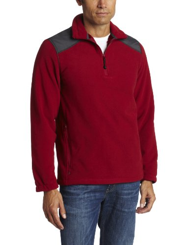 Woolrich Men's Oakway Pullover, Ruby, Large