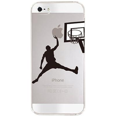 【Clear Arts】【iPhone5ケース カバー】【スマホケース カバー】【クリアケース】【バスケットボール】 08-ip5-ca0068