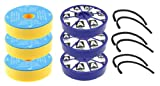 First4spares Washable Pre Motor Filters and Post Motor Allergy HEPA Filters with Seals Kit For Dyson DC05 DC08 Vacuum Cleaners (3 of Each)