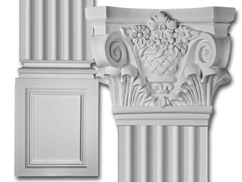 decorative-interior-column-corinthian-flat-column-set