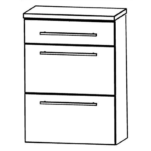 Puris Speed (HBA566A Bathroom Cabinet 60 CM