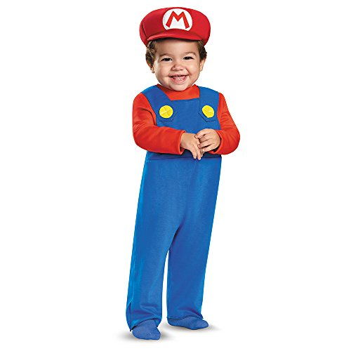 Disguise Baby Boys' Mario Infant Costume