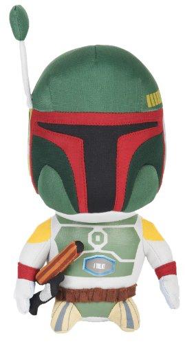 Underground Toys - Star Wars, Boba Fett, peluche con sonido, 22 cm (SDTSDT27384)