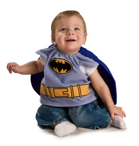 Batman The Brave And The Bold Deluxe Bib, Batman Print, Newborn (0-9 Months) Costume