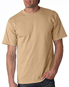 Gildan Adult Ultra Cotton T-Shirt, Tan, XXX-Large. 2000