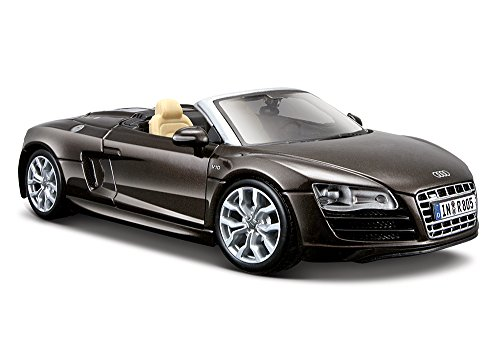 Maisto 1:24 Scale Audi R8 Spyder Diecast Vehicle (Colors May Vary) (Audi R8 Model Car compare prices)