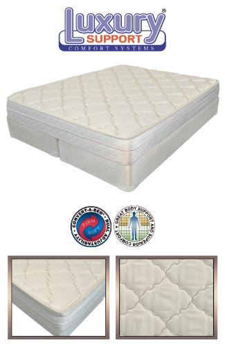 8 Inch Full / Double Size Innomax® Luxury Support Evolutions Adjustable Sleep Air Bed Mattress front-964328